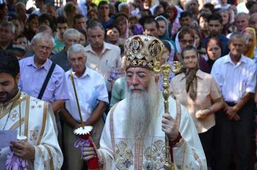 Ps Nicodim la Hramul Mănăstirii Polovragi