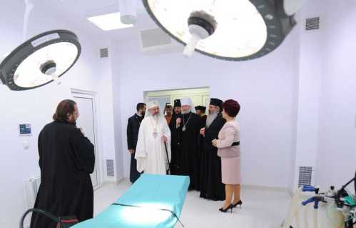 Patriarhul Daniel la spitalul Providenţa