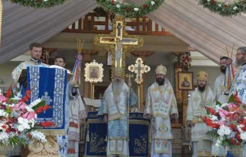 Sfinţirea Agheasmatarului de la Mănăstirea Zosin
