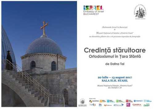 afis Expoziţie Muzeul Satului