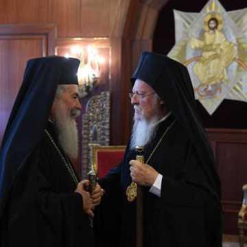 Patriarhii Teofil si Bartolomeu