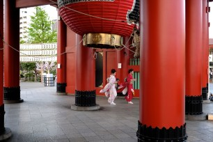 Hozomon Gate Senso-ji