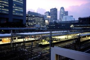 Dusk - Shinjuku Station