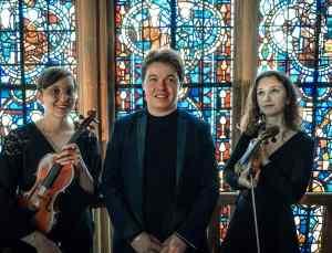2021 Juin , Orgue et violons, Sophie Bouteille, David Sénéquier, Camélia Bichard.