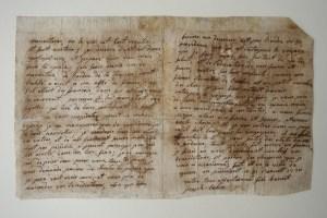 Lettre de St Benoît Joseph Labre à ses parents, suite