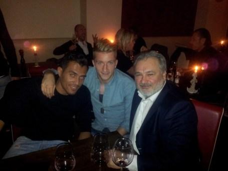 Marco Reus & Juan Arango
