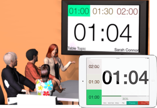 Speech Timer for iPad