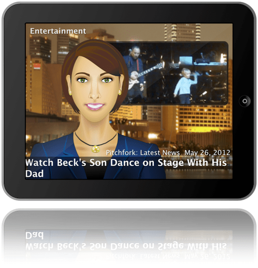 News Anchor for iPad (Vicki Voice)