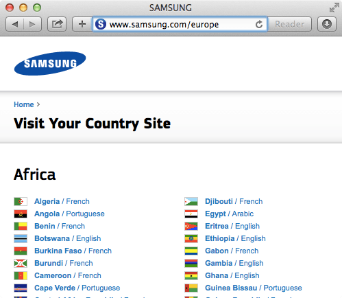 Samsung Europe
