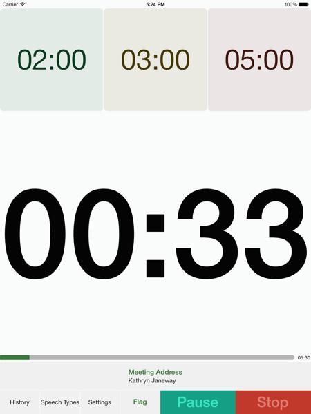 IPad Portrait Timing