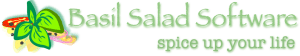 Basil Salad Banner