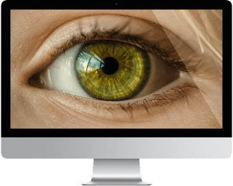 Retina display illustration