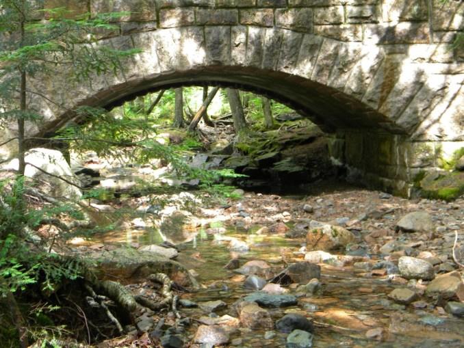 Hadlock Stream Bridge, Acadia National Park