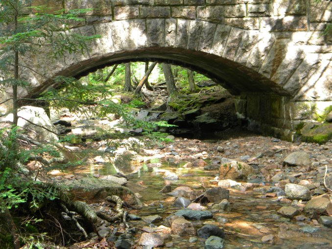 Hadlock Stream Bridge, Acadia National Park
