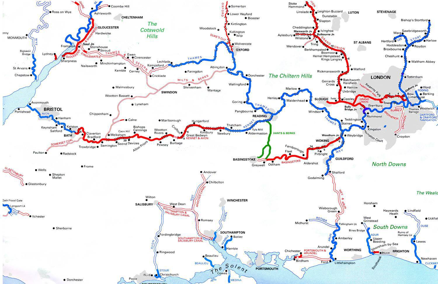 Map Of Canals In England Pictures to Pin on Pinterest - PinsDaddy