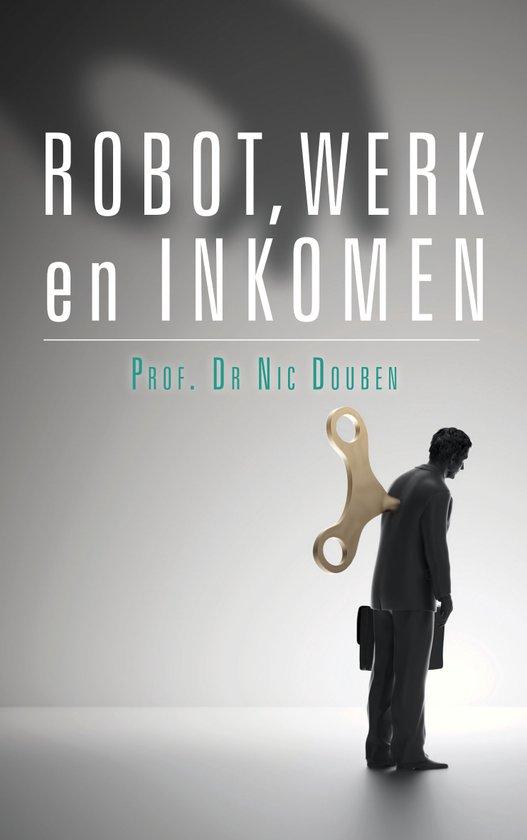 Robot, werk en inkomen Boek omslag