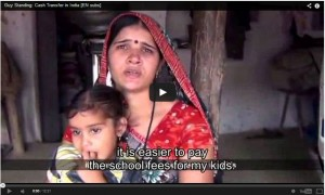 Basisinkomen pilot in India -Cash transfer