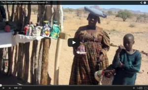 Pilot in Namibië