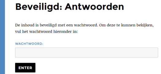 wachtwoord