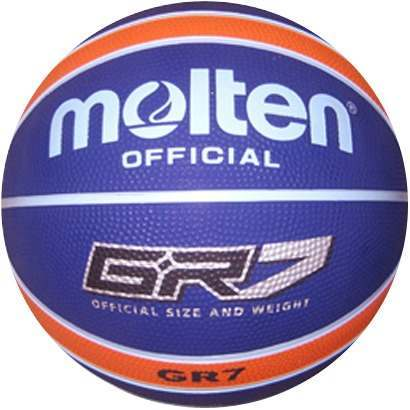 Molten Basketbal BGR7 Navy Oranje