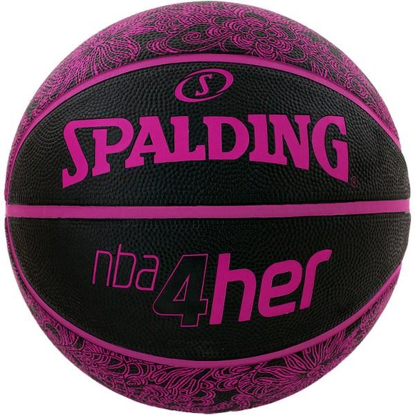 Spalding Basketbal NBA 4HER zwart/paars