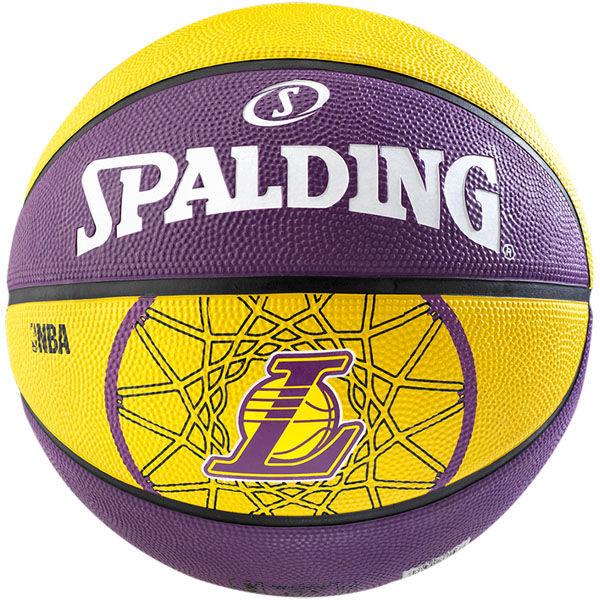 Spalding Basketbal NBA L.A. Lakers paars/geel
