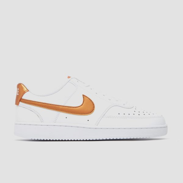 NIKE Court vision low sneakers wit/goud dames Dames
