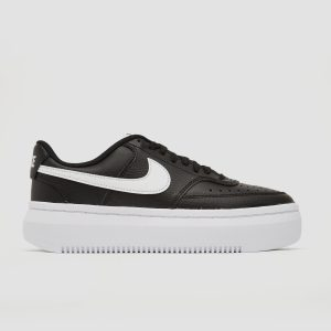 Nike Nike court vision alta sneakers zwart/wit dames dames