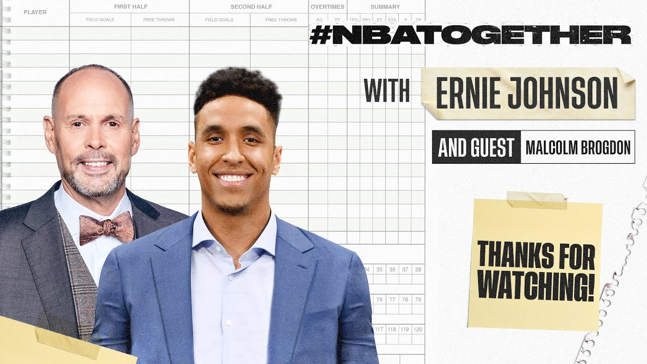 Ernie Johnson & Malcolm Brogdon On Police Brutality, Racism & Our Shared Responsibility For Change
