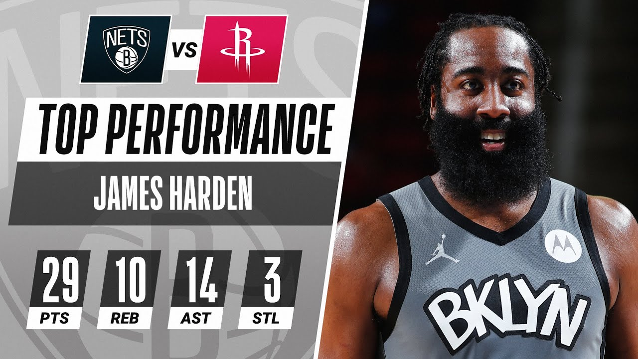 James Harden GOES OFF For Triple-Double In Houston!