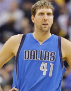 Dirk nowitzki rises to the occasion at garden one more time also dallas mavericks news rumors roster stats awards transactions rh basketballalgm