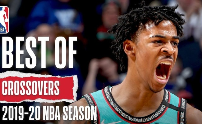 Best Of Crossovers 2019 20 Nba Season Basketball