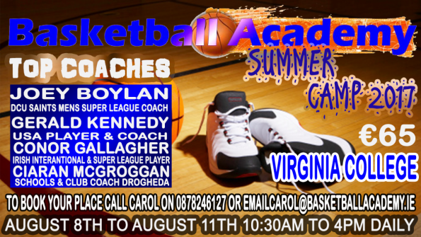 Basketball Academy Summer Camp 2017