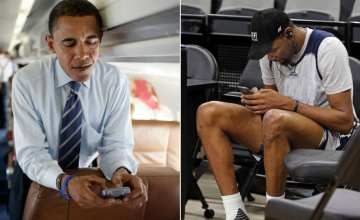 Obama Texts Kevin Durant
