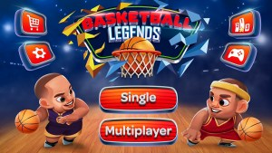 Basketball Legends Is A Cool 2 Player Basketball Game