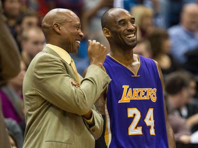 Byron Scott and Kobe Bryant