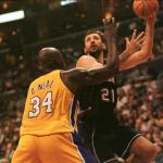 Kings v Lakers O''Neal