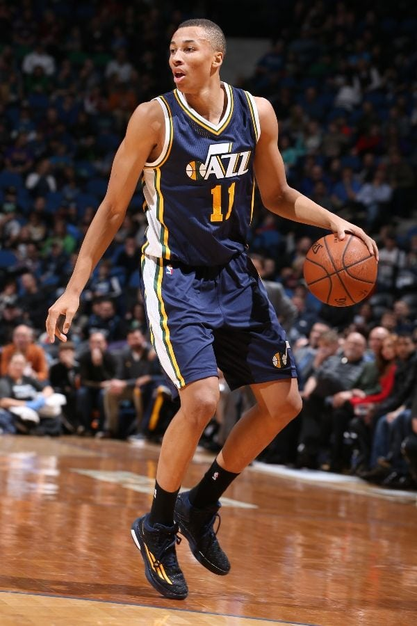 Dante Exum Sustains Non Contact Knee Injury Jazz Fear Torn Acl