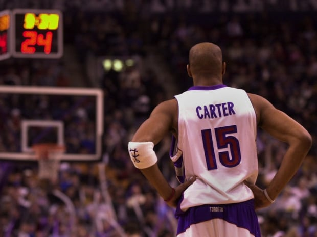 detailing 44dcc 97704 Vince Carter's Toronto Raptors return before retiring would ...