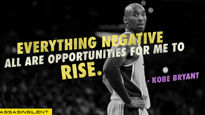 Nobody loves their brand the way Kobe loves his brand.