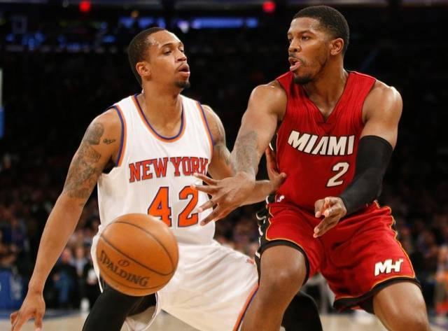 Miami Heat, New York Knicks, Lance Thomas, Joe Johnson