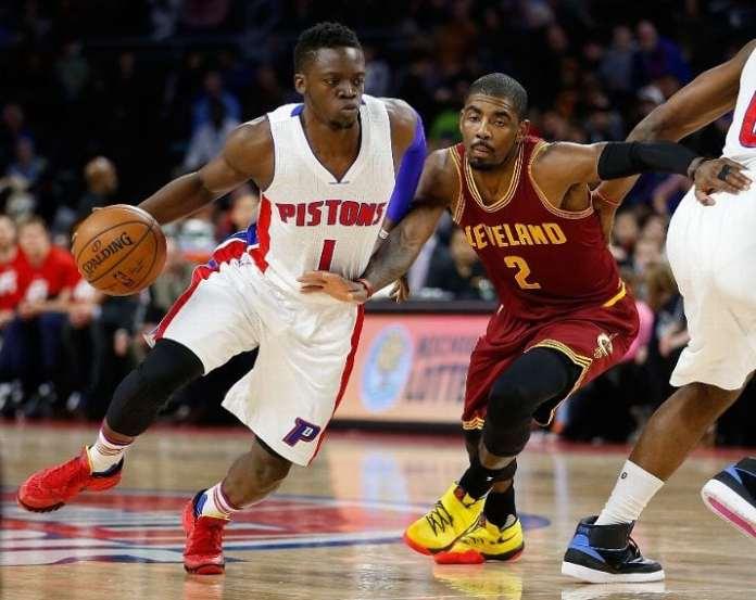 Detroit Pistons, Cleveland Cavaliers, Reggie Jackson, Kyrie Irving