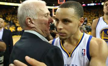 Gregg popovich, Stephen Curry