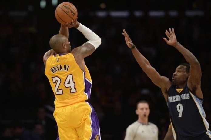 Los Angeles Lakers, Memphis Grizzlies, Tony Allen, Kobe Bryant