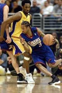 Philadelphia 76ers, Los Angeles Lakers, Allen Iverson, Kobe Bryant