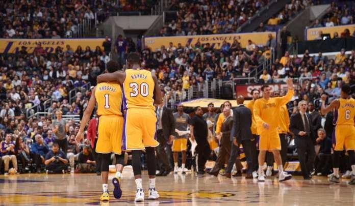 Los Angeles Lakers, Julius Randle, D'Angelo Russell