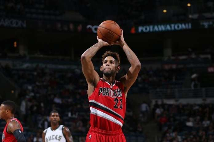Allen Crabbe stepped up at the right time, averaging career highs across the board and is set to become a free agent this summer.(Photo by Gary Dineen/NBAE via Getty Images)