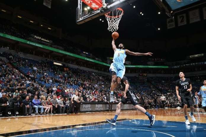 The high-flying Will Barton spent two and a half seasons with Portland in limited playing time and really stepped up his game this past season (Photo by David Sherman/NBAE via Getty Images).