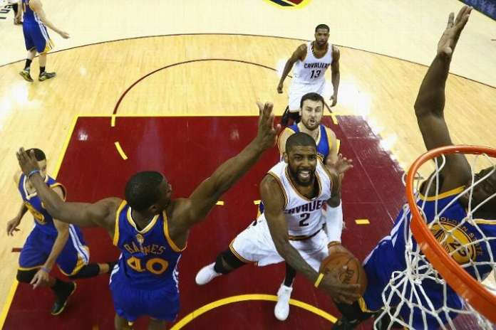 Cleveland Cavaliers, Golden State Warriors, Kyrie Irving