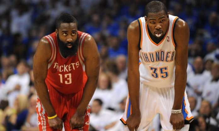 Houston Rockets, Oklahoma City Thunder, Kevin Durant, James Harden
